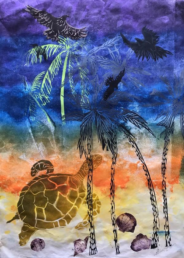Sky to Sand  by Carol Montgomery