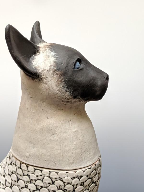 Siamese Cat 1 of 2 by Susan Mattson
