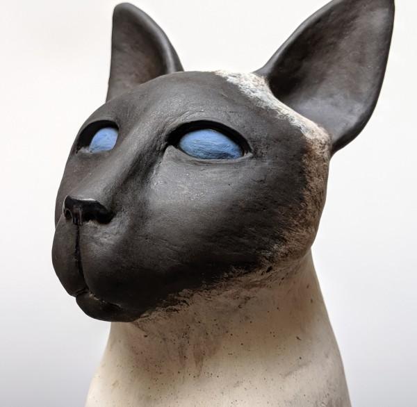 Siamese Cat 2 of 2 by Susan Mattson