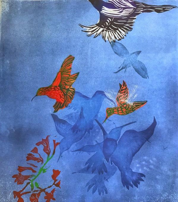 Blue Heaven II by Carol Montgomery