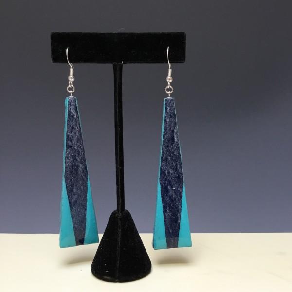 Earrings by Paul Guillemette