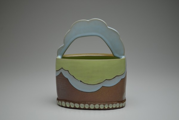 Cloud Basket by Eliza Weber