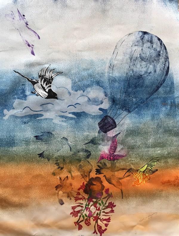 Flight/Sky  by Carol Montgomery