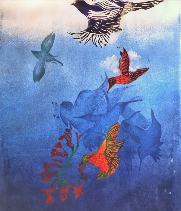 Blue Heaven I by Carol Montgomery
