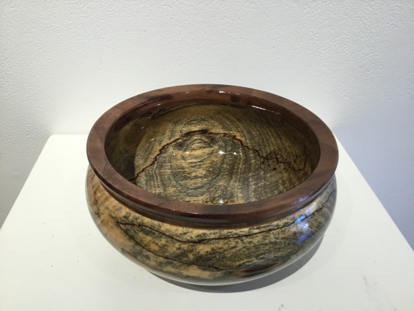 Spalted Birch Bowl  by John Andrew