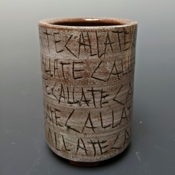 Callate Tumbler by Andrew  Rivera