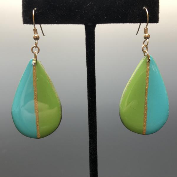 Hanging Earrings by Paul Guillemette
