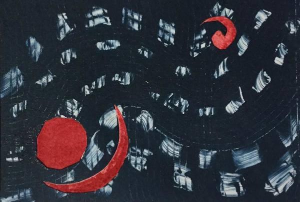 Indigo Shibori by Maureen Shaughnessy