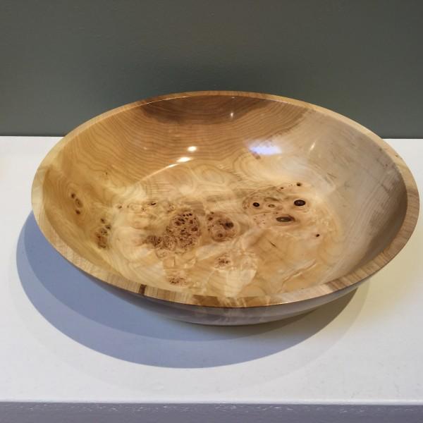 Bird's Eye Maple Bowl  by John Andrew