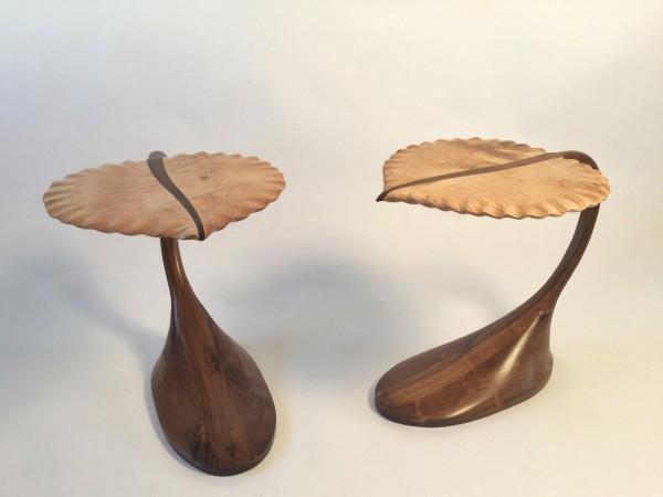 Aspen Leaf  - Side Table by Tim Carney