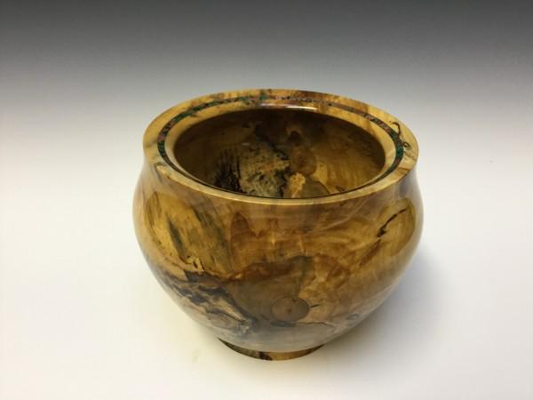 Spalted Birch Urn by John Andrew