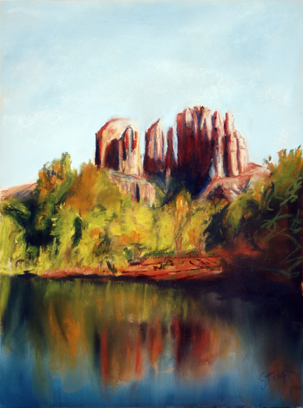 Cathedral Rock by Charles Stup