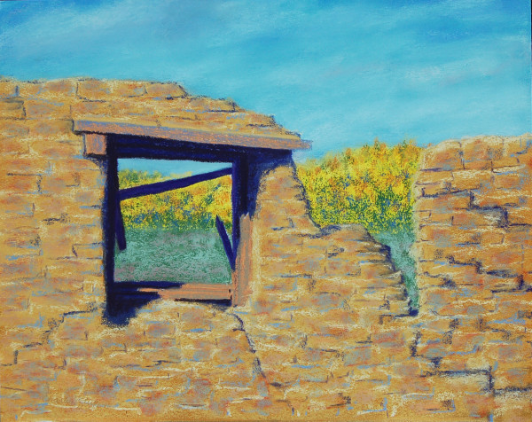 Galisteo Ruins by Charles Stup