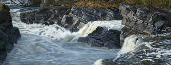 Hogsback Falls by Cindy Sorley-Keichinger