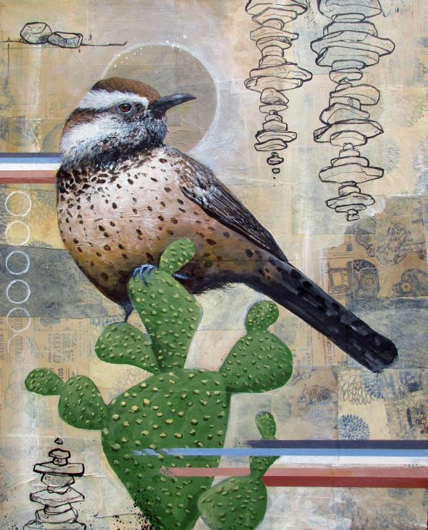 Wren At Dusk by Joshua Coffy