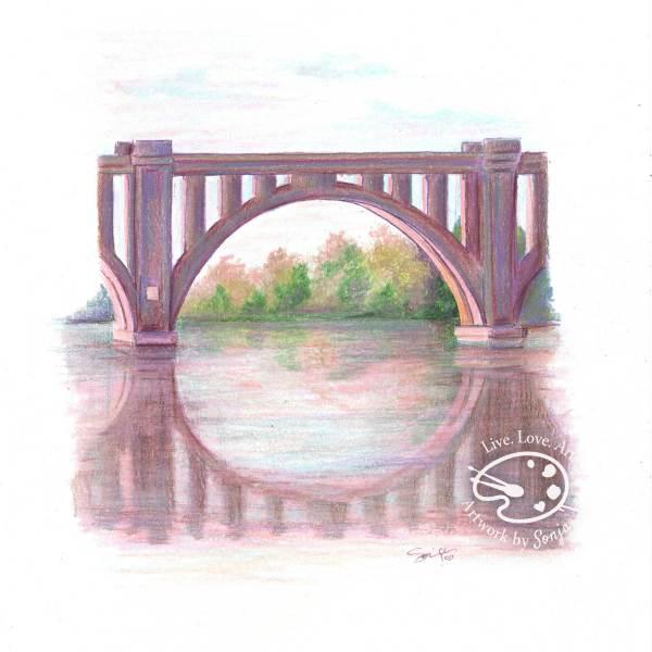 Bridge at City Dock by Sonja Petersen