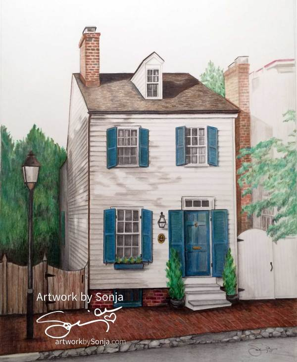 Olde Towne Alexandria, Virginia by Sonja Petersen