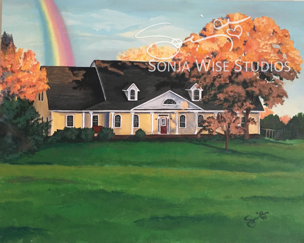 Rainbow House by Sonja Petersen