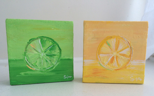Lime and Lemon by Sonja Petersen
