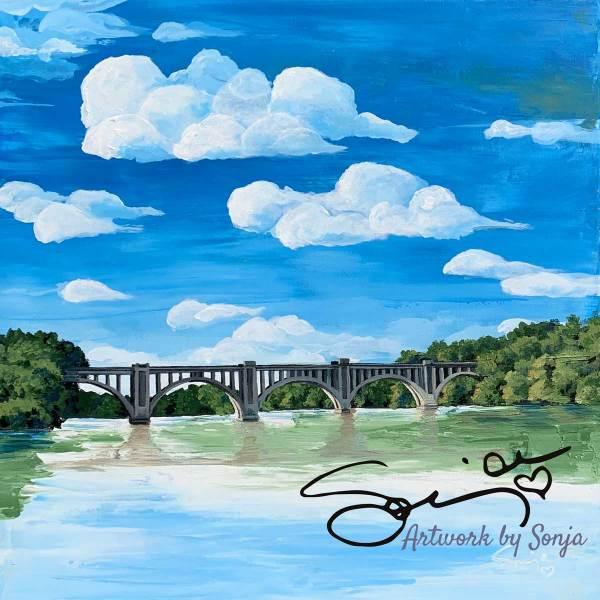 Train Bridge by Sonja Petersen