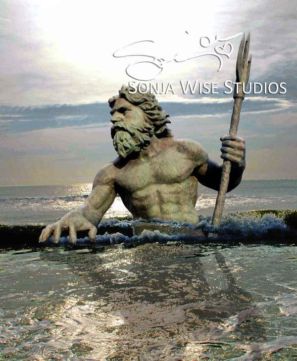 Neptune Attacks by Sonja Petersen