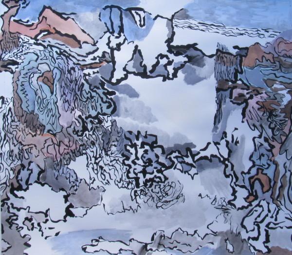 Double View Landscape by jennifer wiggs