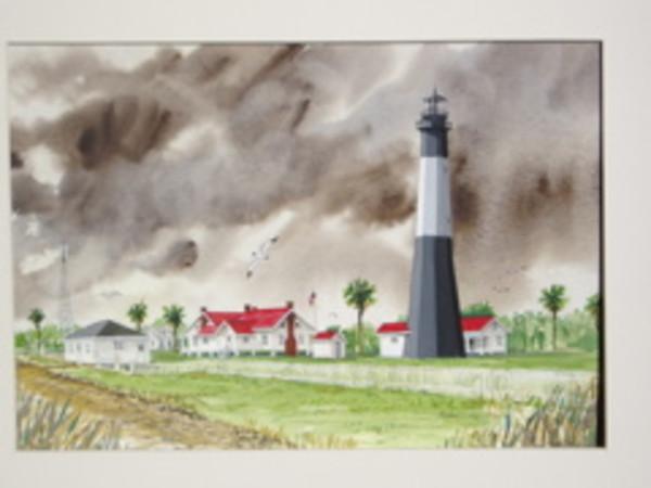 Tybe Lighthouse, Georgia. by Richard S. Hall