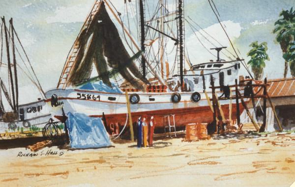 Drydocked #1 by Richard S. Hall