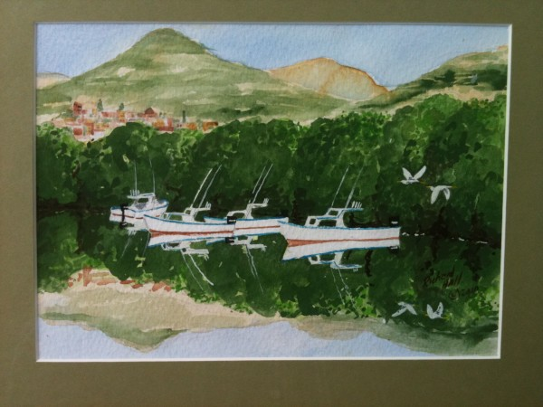 Zihuatanejo back water anchorage by Richard S. Hall