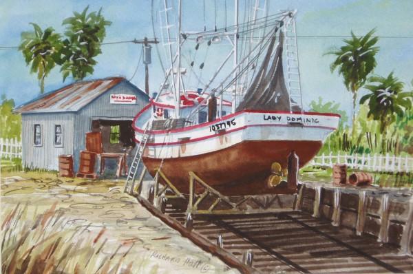 Shrimp Boat #101 by Richard S. Hall
