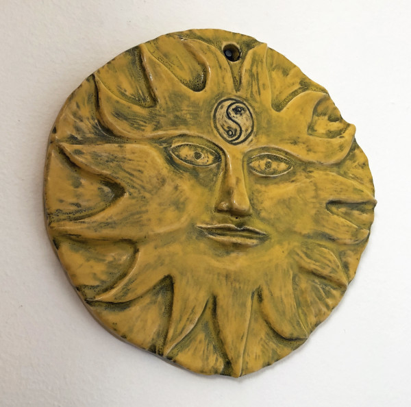 Atum, a sun with a 3rd eye by Nell Eakin