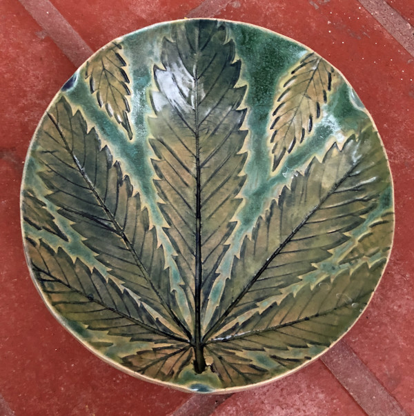 Rain Forest, a 420 impression small bowl by Nell Eakin