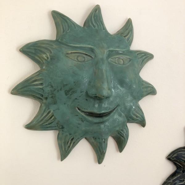 Patina Celedon Sun by Nell Eakin