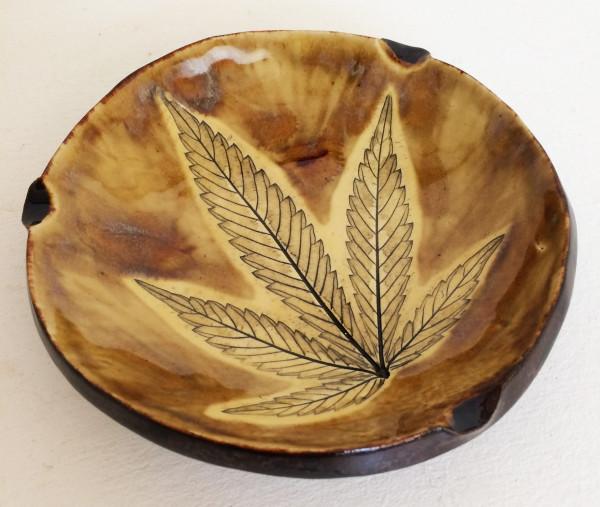 Warm Honey  ~ Single leaf Impression tray by Nell Eakin