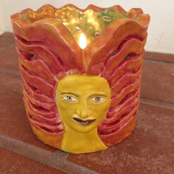 Sunburst Lady Lantern by Nell Eakin