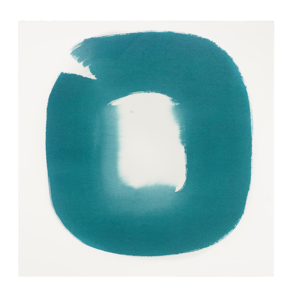 Aperture in Turquoise XX by Veronique Gambier