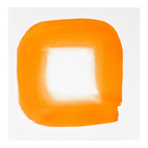 Aperture in Sunshine Orange I by Veronique Gambier