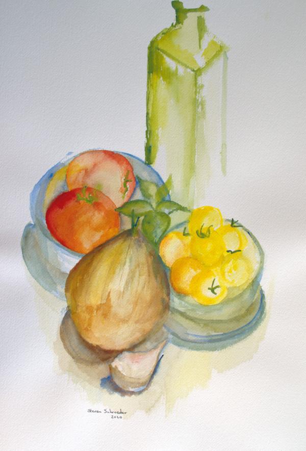 still life: pomodori by Steven Schroeder