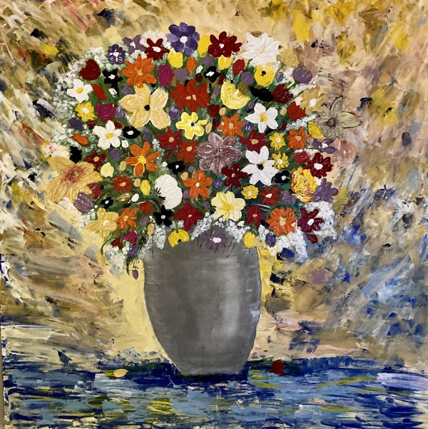 Floral Bouquet by Julie Crisan