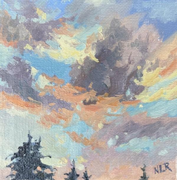 Silver Lining I by Nancy Romanovsky