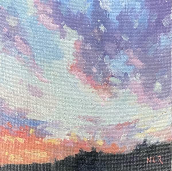 Silver Lining II by Nancy Romanovsky