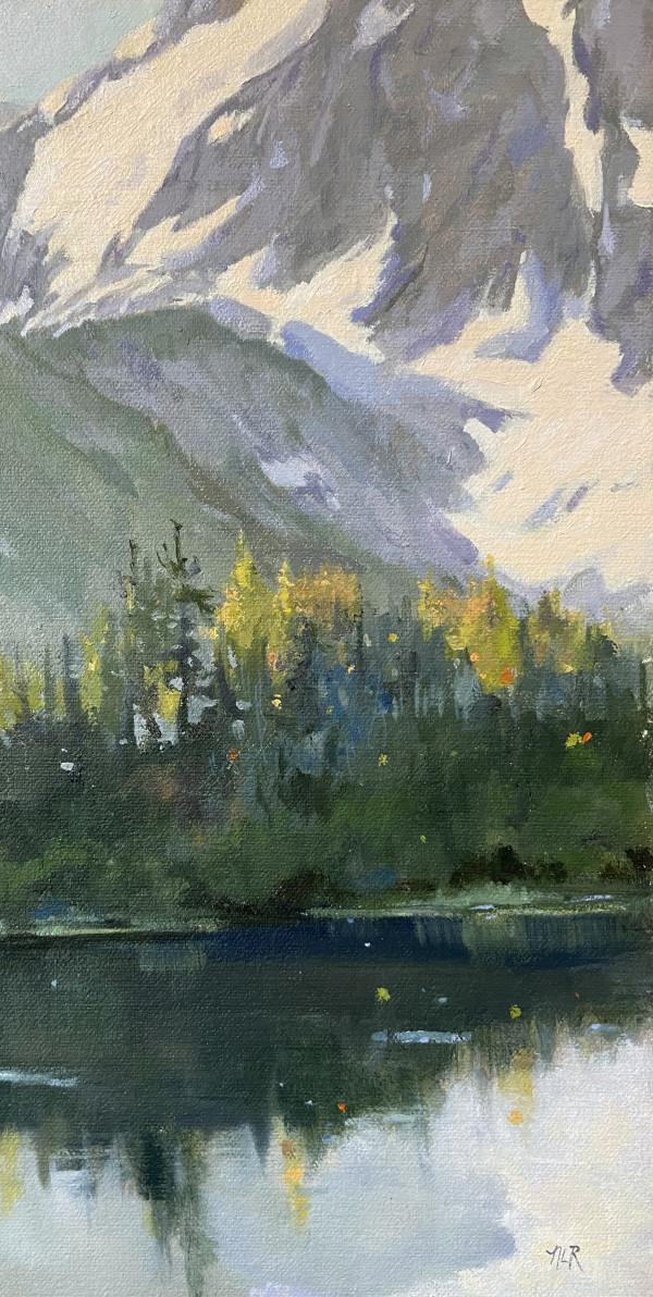 Picture Lake by Nancy Romanovsky