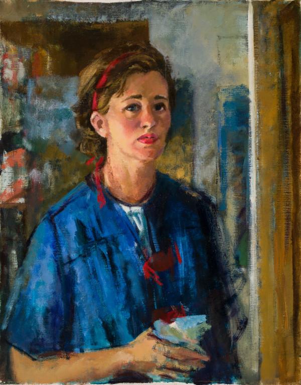 """Artist's Self-portrait"" by Miriam McClung"