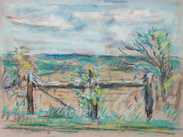 The Country Fence by Miriam McClung