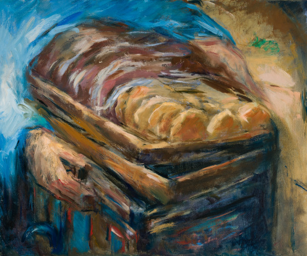 The Bread Cart by Miriam McClung