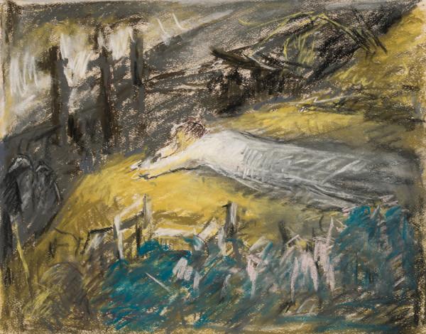Christ at Gethsemane by Miriam McClung