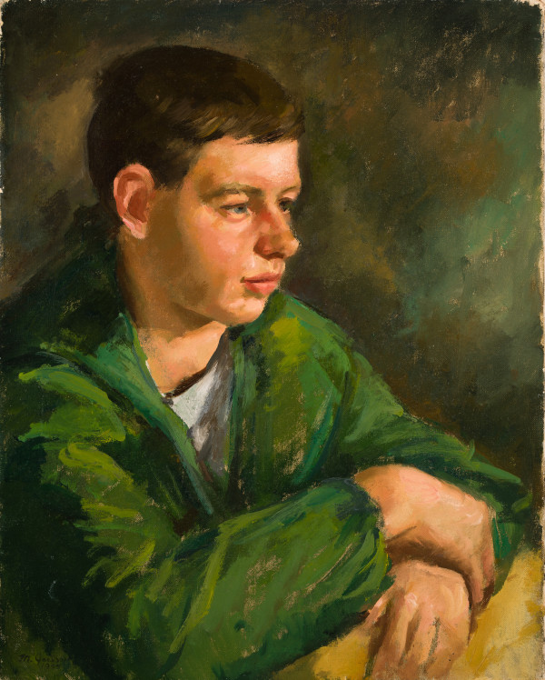 The Boy in the Green Jacket by Miriam McClung
