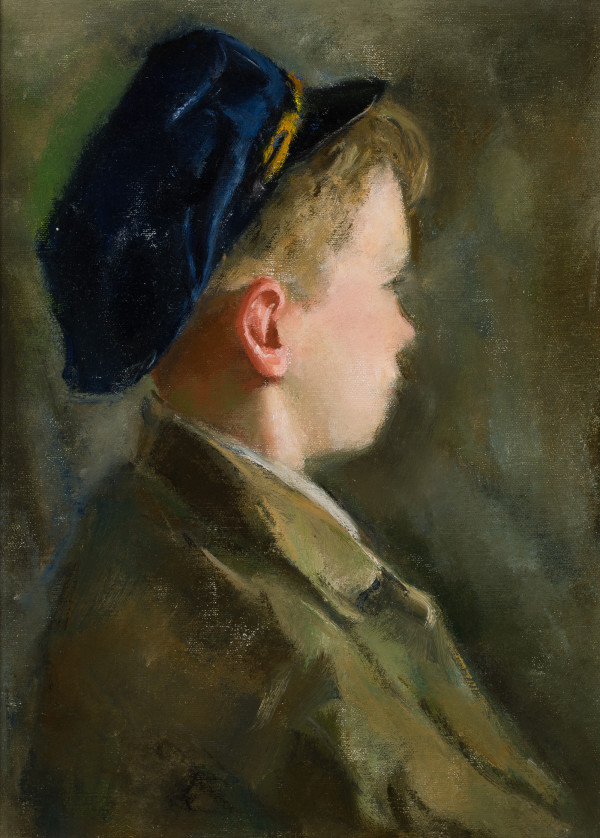 Boy in the Blue Cap by Miriam McClung