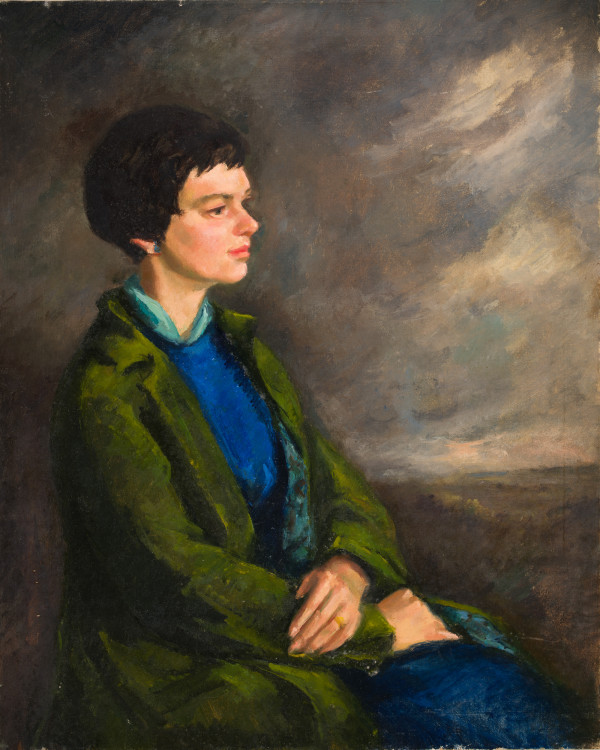 Woman in the Green Jacket by Miriam McClung