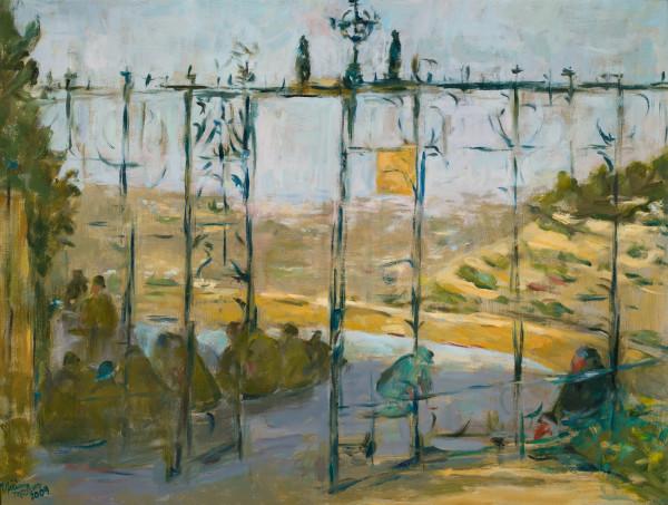 The Gates at Ein Karem by Miriam McClung